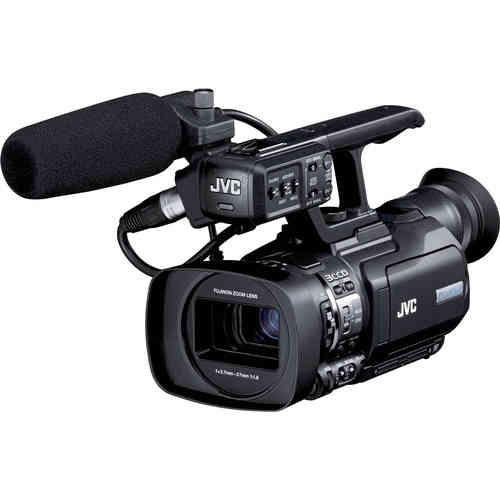 JVC GY-HM200E 4KCAM/HD Live Streaming Camcorder inkl.XLR Mikro