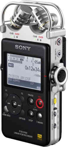 SONY PCM-D100: Portable High Resolution Audio Recorder