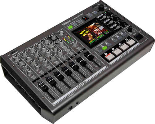 ROLAND VR3EX - AV Mixer with built-in USB port for Web Streaming and Recording