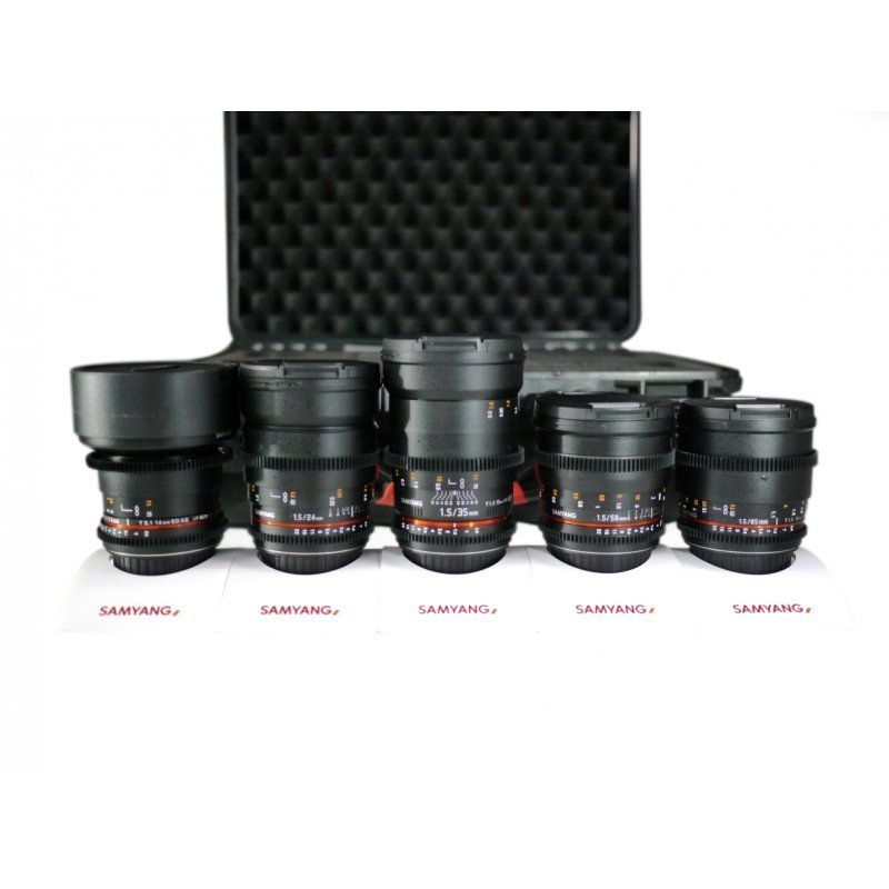 Samyang Optics Full Frame Bundle für Canon EF - Professional Audio ...