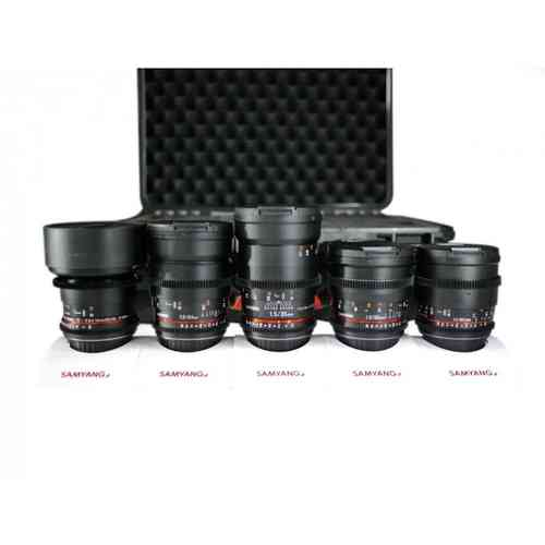 Samyang Optics Full Frame Bundle für Canon EF